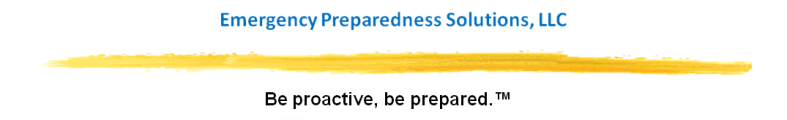 EPS logo with tag line - Be proactive, be prepared.