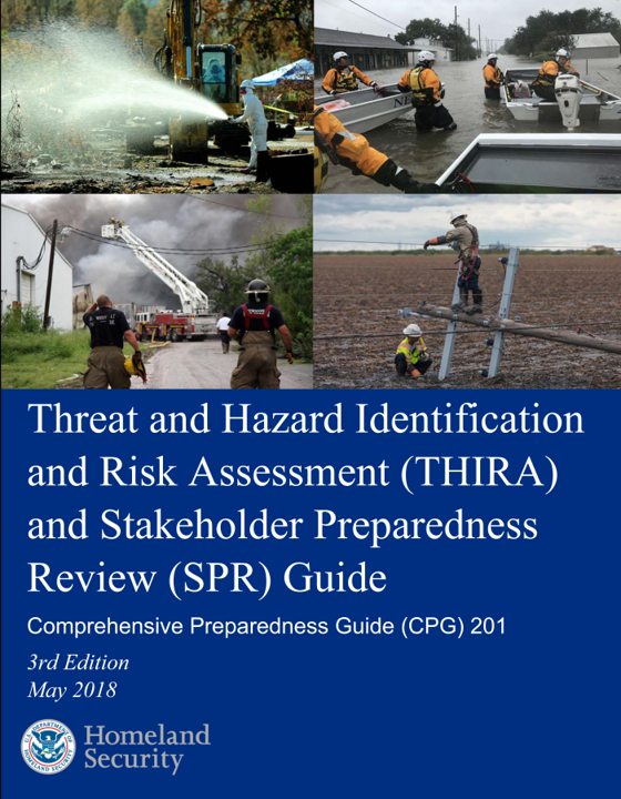 Overview briefing threat and hazard identification and risk.